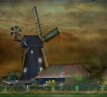 Sarre Windmill by Catherine Hamilton-Veal  ©