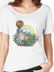 rainbows end Women's Relaxed Fit T-Shirt