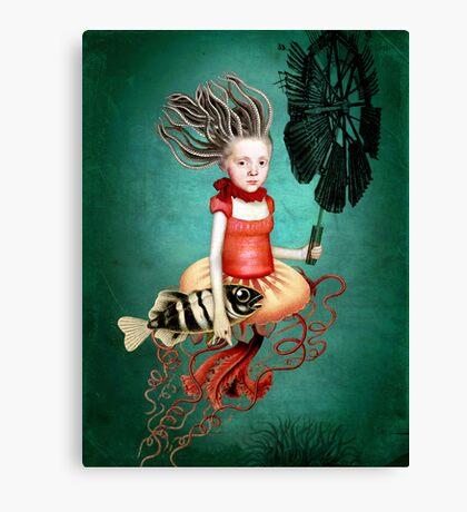 Die kleine Meerhexe Canvas Print