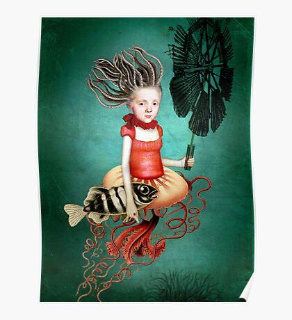 Die kleine Meerhexe Poster