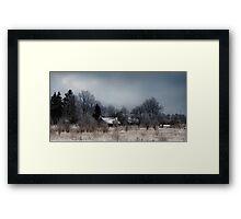Silent Christmas Framed Print
