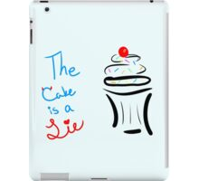 "Portal ""The Cake Is A Lie"" Cupcake iPad Case/Skin"