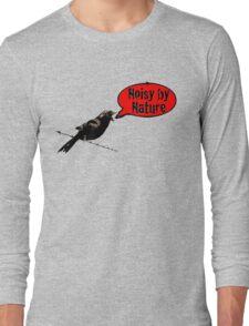 NoisyByNature Red Long Sleeve T-Shirt