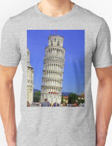 Leaning Tower Unisex T-Shirt