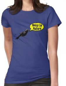 NoisyByNature Yellow Womens Fitted T-Shirt