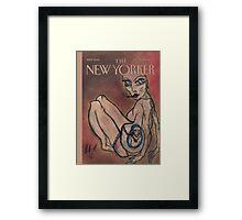 'The New Yorker' Framed Print