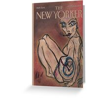 'The New Yorker' Greeting Card