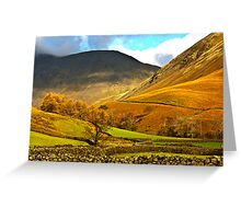 Autumn in Wasdale - Lake District Greeting Card