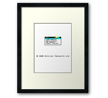ZX Spectrum Framed Print
