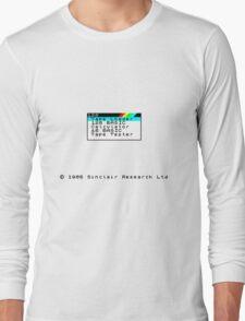 ZX Spectrum Long Sleeve T-Shirt