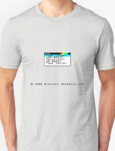 ZX Spectrum Unisex T-Shirt