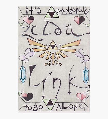 Link ♥ Zelda Photographic Print