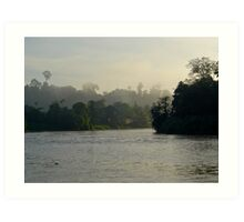 Borneo Mist Art Print
