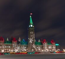 Merry Christmas Canada by Josef Pittner