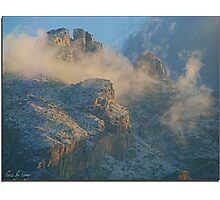 Lunar Scape in the Catalinas Photographic Print