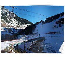Andorra skiing Poster