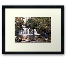 I'Ve Got My Wellies On !! Framed Print