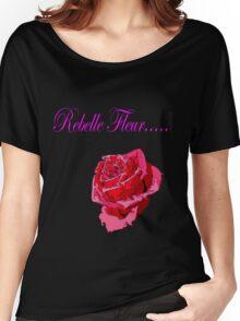 Rebelle Fleur Women's Relaxed Fit T-Shirt