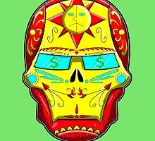 Ironman - Sugar Skull Series by ValentinoVitela