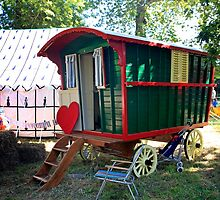 Gypsy Caravan by Chris L Smith