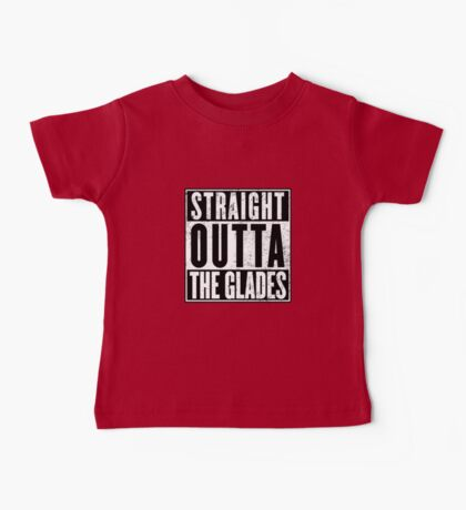 Straight Outta The Glades Baby Tee