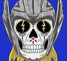Thor - Sugar Skull Series by ValentinoVitela
