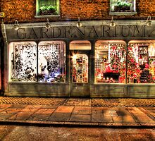 Christmas Window - Hampton Court - HDR by Colin  Williams Photography