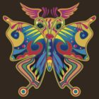 Colorful Butterfly by nishagandhi