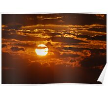 As the Sun Sets in Southeast Missouri Poster