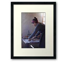 Baking Day Framed Print