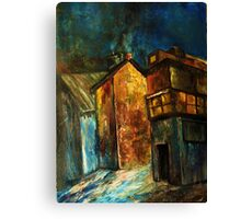 This old house....... Canvas Print