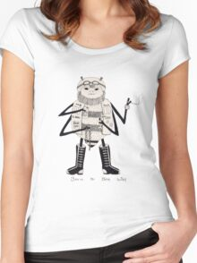Born To Bee Wild Women's Fitted Scoop T-Shirt