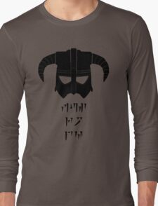 Fus Ro Long Sleeve T-Shirt