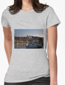 Dusk on Halki Womens Fitted T-Shirt