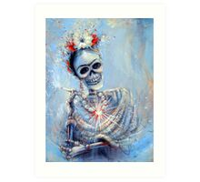 Corazon de Frida Art Print