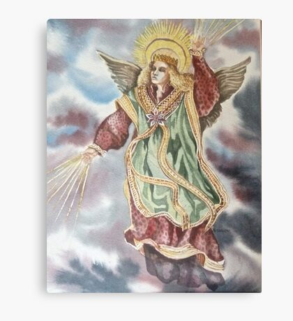 The Christmas Angel Canvas Print