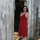 Barefoot In A Red Dress by Carla Wick/Jandelle Petters