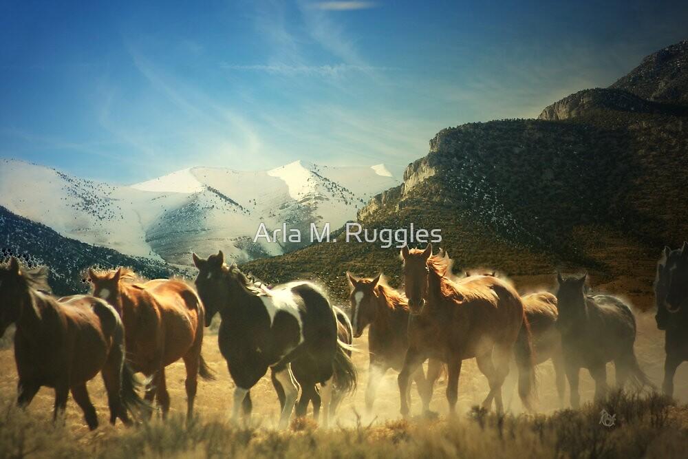 Winter Crossing by Arla M. Ruggles