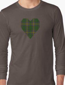 00105 Alberta District Tartan  Long Sleeve T-Shirt