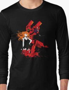Evangelion Unit-02 Long Sleeve T-Shirt