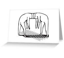 PLUG AND PLAY: GIANTS Greeting Card