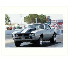 Pure Muscle; Quarter Mile Racing; Fomosa Raceway, USA; Sept. 10, 2010, Lei Hedger Photography All Rights Reserved Art Print