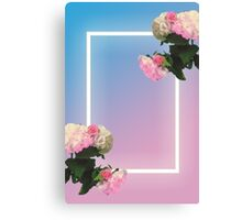 Blue/Pink the 1975 Canvas Print