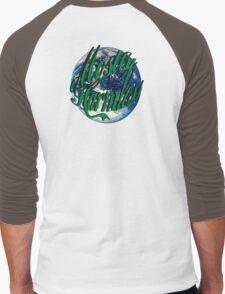 Mostly Harmless Men's Baseball ¾ T-Shirt