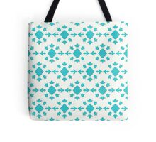 Blue and White Pattern Tote Bag