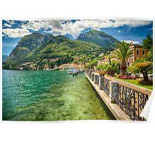 Promenade View, Menaggio, Lake Como Poster