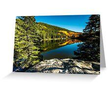 Bear Lake Rocky Mountain National Park Greeting Card