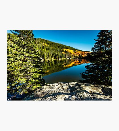Bear Lake Rocky Mountain National Park Photographic Print