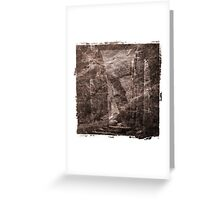 The Atlas of Dreams - Plate 16 Greeting Card
