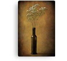 The olive oil bottle Canvas Print